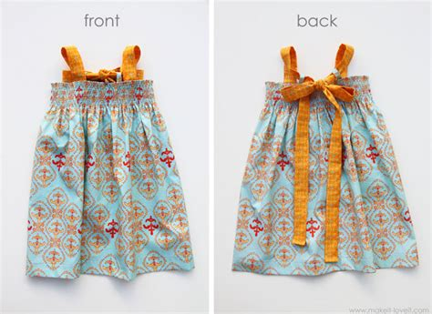 simple dress pattern 1 year old free girls dress patterns charity sewing it s always