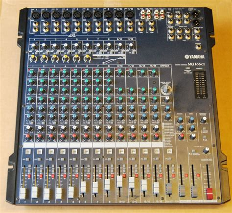 Mixer Yamaha Mg166cx Bekas yamaha mg166cx image 776850 audiofanzine