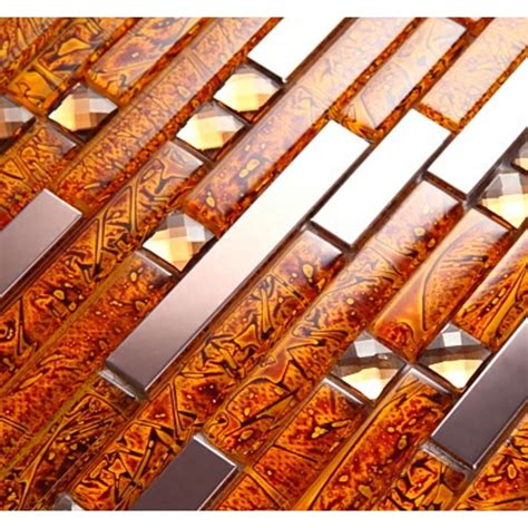 metal tiles for kitchen backsplash metal glass tiles for kitchen backsplash gold