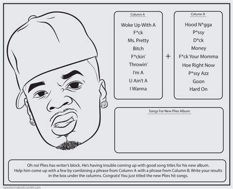 bun b coloring book 239 best worksheet images on colour book