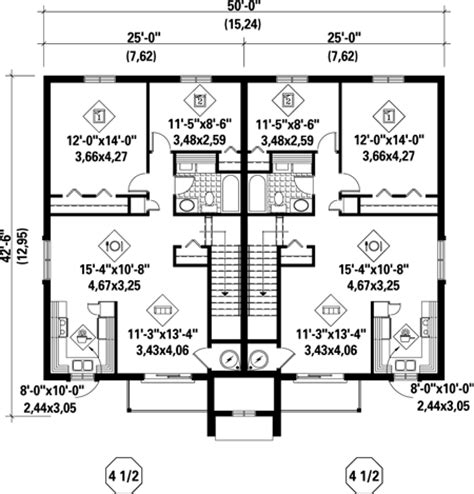 quadplex plans 4 plex plans townhouse popular house plans and design ideas