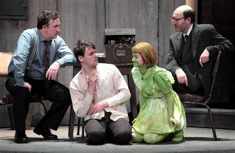 gary lydon actor theatre review the pillowman at the gaiety theatre
