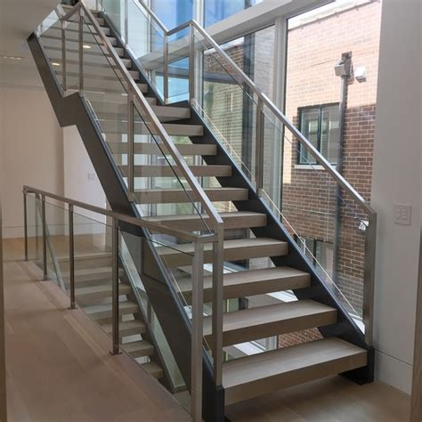 STAIRS & RAILINGS   Modern Railings, Custom Stairs Chicago