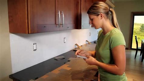 installing a plastic backsplash youtube easy diy self adhesive faux best free home design