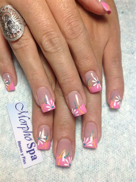 Funky Gel Nail Designs