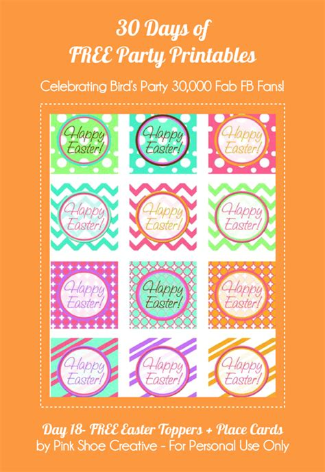 printable card toppers free free printable easter cupcake toppers place cards