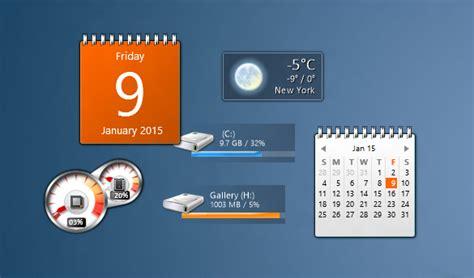 gadget bureau windows 8 gadgets de bureau pour windows 10
