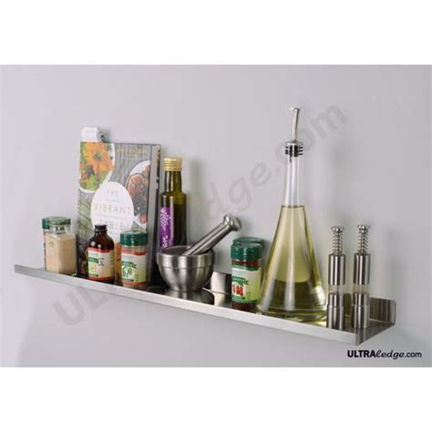 Floating Spice Rack Stove Shelves And Metals On