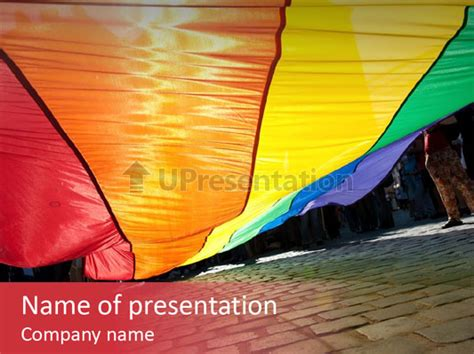 Lgbt Gay Festival Powerpoint Template Id 0000085626 Upresentation Com Free Lgbt Powerpoint Templates