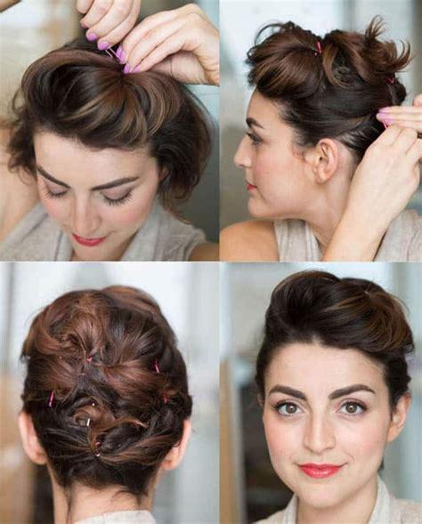 peinados paso a paso pelo corto 30 peinados para cabello corto tutoriales y las 250 ltima