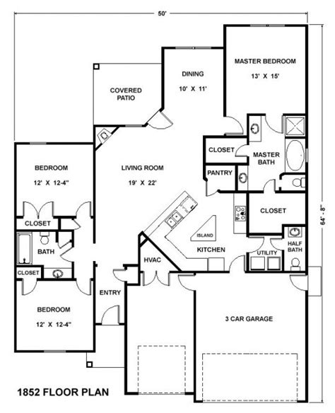 3bd homes plans home plan
