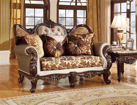 Provincial Living Room Set by Antique Style Wing Back Sofa Seat Provincial