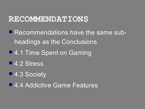 recommendation section of a report report writing conclusions recommendations sections