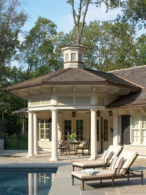 Large Cupola by Poolhouse With Octagonal Front Porch And Cupola Hgtv