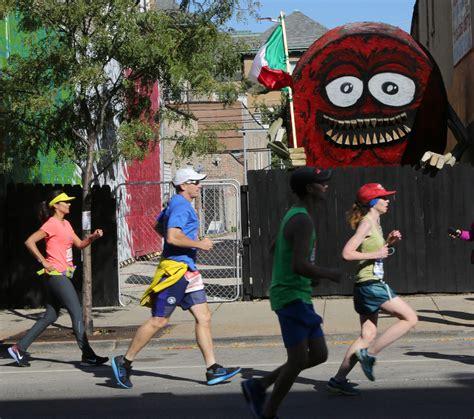 chicago marathon map chicago marathon map a journey through neighborhoods