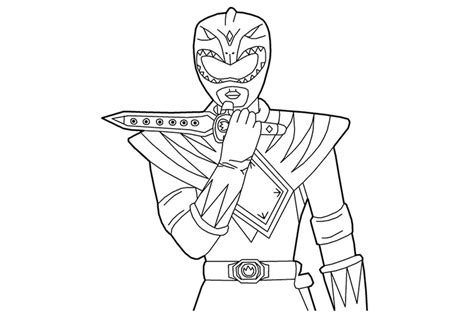 mighty morphin power rangers printable coloring pages power rangers coloring pages getcoloringpages com