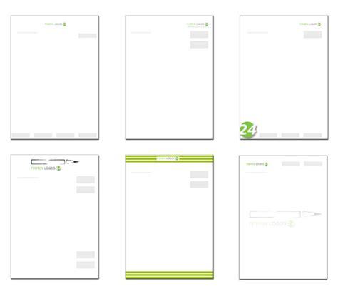 Design Vorlagen Briefpapier Briefpapier Gestalten Einige Wichtige Regeln