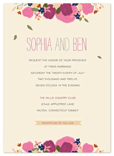 country elegance wedding invitations wedding invitations country elegance at minted