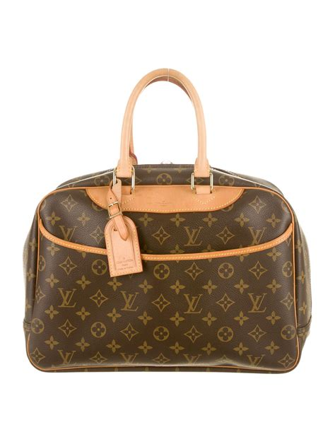 louis vuitton monogram deauville bag accessories
