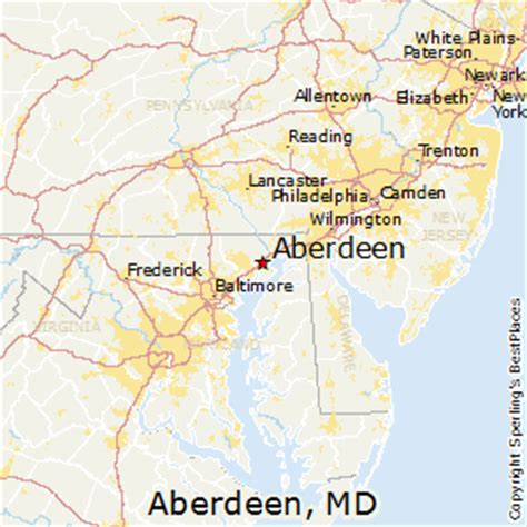 maryland map aberdeen best places to live in aberdeen maryland