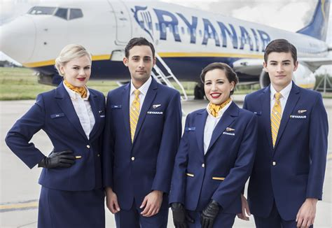 flight cabin crew image gallery ryanair s corporate website