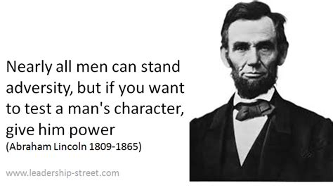 leadership quotes abraham lincoln abraham lincoln on leadership quotes quotesgram
