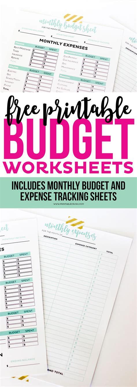 printable budget worksheet best 20 budgeting worksheets ideas on budget