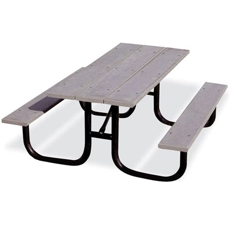 heavy duty plastic picnic tables ultraplay heavy duty recycled plastic picnic table 6 l