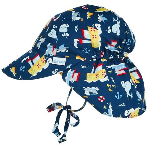 tugboat hat iplay sun protection hat navy tugboat babyonline