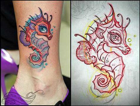 cartoon horse tattoo tatouage hippoce top 50 des plus belles cr 233 ations en