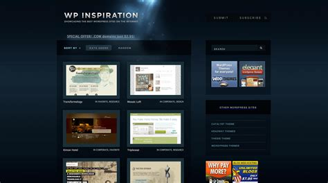 homepage design inspiration 15 top inspirationsquellen f 252 r webdesigner t3n