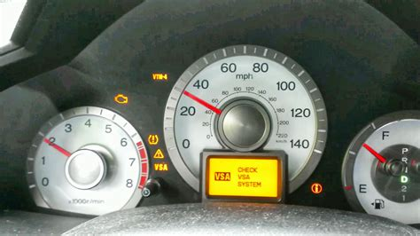 vsa  check engine light  honda pilot decoratingspecialcom