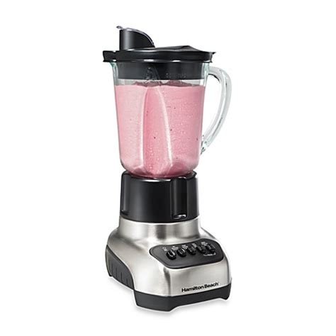 blender bed bath and beyond buy hamilton beach 174 single serve blender from bed bath