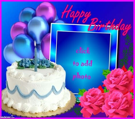 Add Photo In Birthday Cards For Free 25 Best Images About Free Birthday Cards On Pinterest Sa