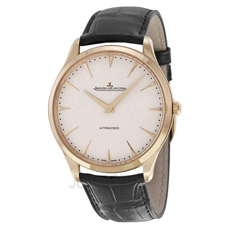 jaeger lecoultre master ultra thin automatic gold