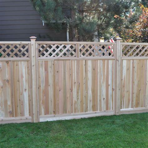 Design For Lattice Fence Ideas 75 Fence Designs Styles Patterns Tops Materials And Ideas