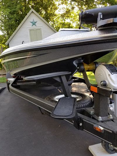 boat trailer steps and handle viewing a thread boat trailer step up with handle