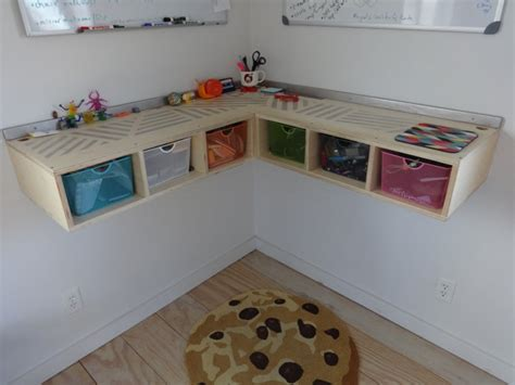 wall mounted corner desk how to build a wall mounted stand up desk diydork com