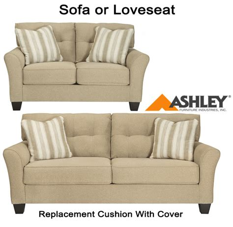 ashley furniture couch cushion replacement ashley 174 laryn replacement cushion cover 5190238 sofa or