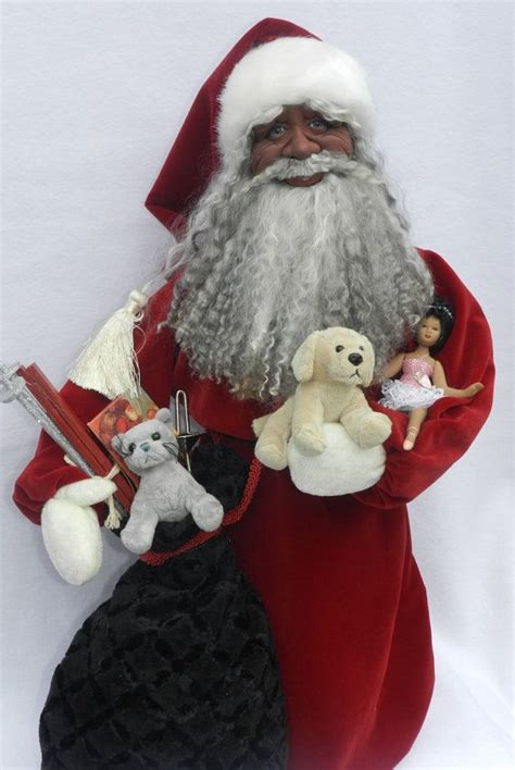 black santa doll with bag of toys on sale 11 30 save 100