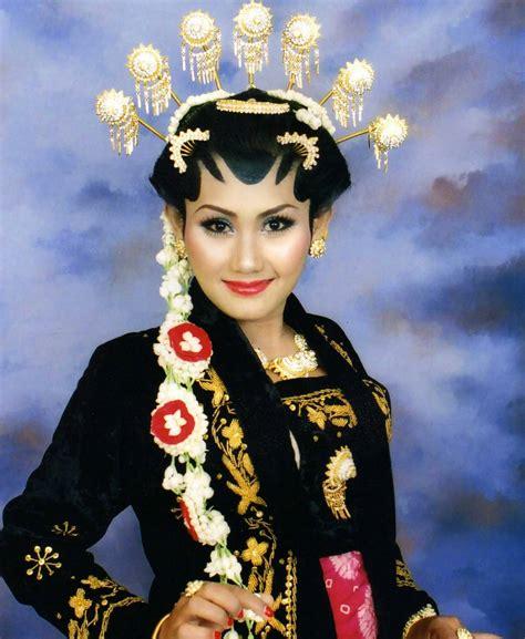 Sisir Jawa Pengantin 4 gaya rias pengantin jawa yang mempesona