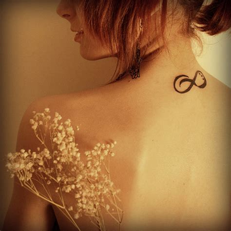 infinity tattoo neck meaning infinity tattoo ideas we know how to do it