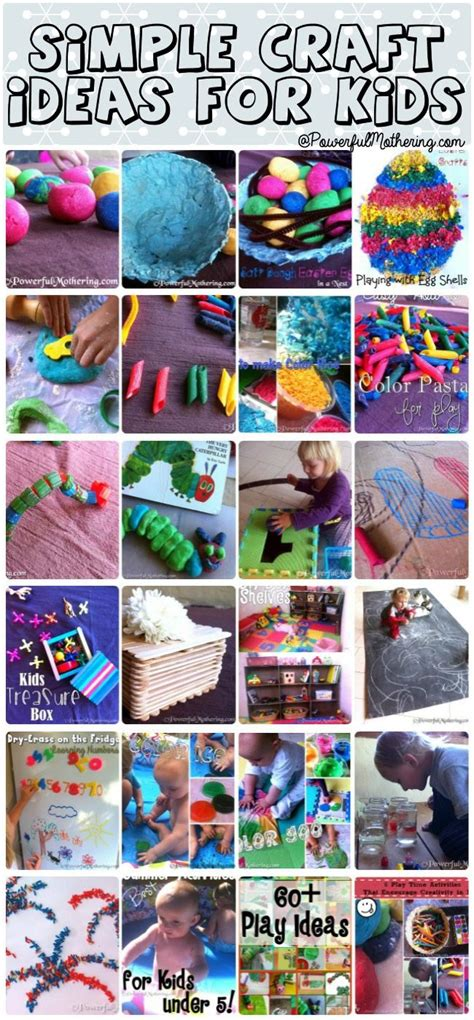 pattern activity ideas simple craft ideas for kids first anniversary simple