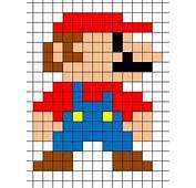 25  Unique Pixel Art Templates Ideas On Pinterest