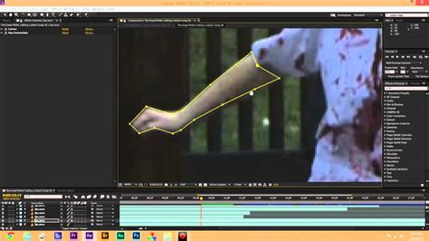 tutorial after effect rotoscoping how to create zombie skin rotoscoping tutorial after