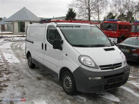opel vivaro 2003 opel vivaro 2003 other vans trucks up to 7 photo and specs
