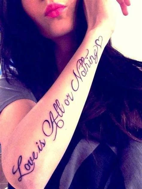 tattoo on arm quote 30 forearm tattoos for women to try forearm tattoos