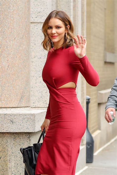 Chaterine Dress katharine mcphee in dress at abc studios in new york