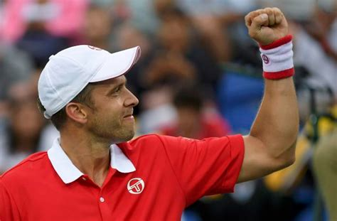 Lu Projie Beat Esp comit 233 olympique et sportif luxembourgeois gilles muller defeats jo wilfried tsonga