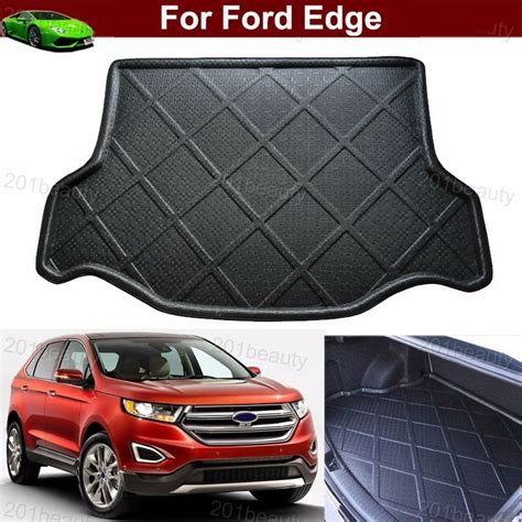 cargo mats for 2014 ford edge car mat cargo liner mat tray rear trunk floor mat for ford